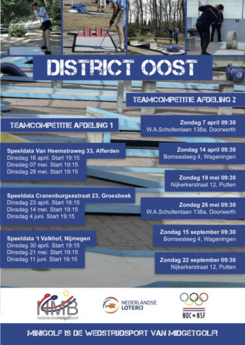 District oost 2019
