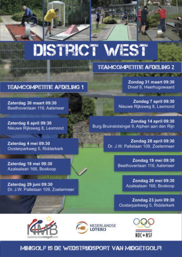 District west 2019